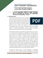 Peligro Sismico de Pomabamba (Anexo)