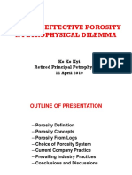 Total vs Effective Porosity