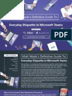 Etiquette in Teams eBook