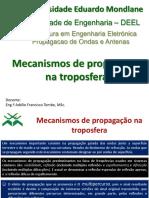 Mecanismo de Propagacao na Troposfera