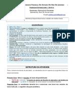 Trabalho Extraclasse Edu-Filo 2019.1