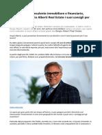 Sergio Alberti Real Estate Un Approfondimento Sul Mercato Immobiliare Di Dubai
