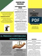 Competencias y Las Partes Del Proceso Contencioso Administrativo