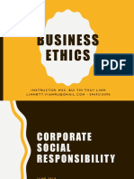 Module 9 - Corporate Social Responsibility
