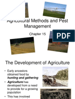 Chapter 15 Agricultural Methods and Pest Management