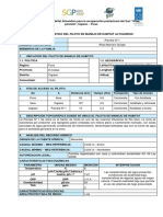 Modelo de Fichas Para Informacion Ambiental