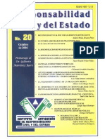 Responsabilidad Civil y Del Estado No. 20 2006