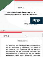 Nif a-3 Usuarios de Los Eeff