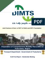 Puducherry Draft Mobility Plan - Presentation