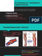 enfermedad Tromboembolismo venoso