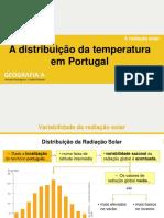 2.2 TEXTO - A Distribuição Da Temperatura Em Portugal