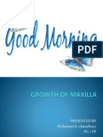 Growth of Maxilla
