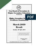 2019 04 30 Result Booklet Hssc Examination March 2019