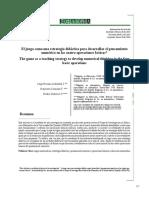 Dialnet-ElJuegoComoUnaEstrategiaDidacticaParaDesarrollarEl-5377717