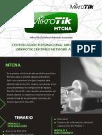 CERTIFICACIÓN-MTCNA