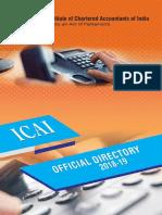ICAI Directory Final18-19
