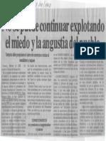 Edgard Romero Nava - No Se Puede Continuar Explotando El Miedo y La Angustia Del Pueblo - El Impulso 17.02.1990