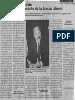 Edgard Romero Nava - Solo Se Ha Despedido Menos Del 3 Por Ciento de La Fuerza Laboral - Economia Hoy 02.02.1990