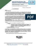 Programa de Capacitacion a Asociaciones de Pcd