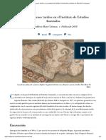2018_Mosaicos Romanos en El Instituto de Estudios Avanzados_OK-medio