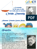 DIAPO DECROLY