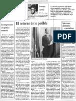 Los Empresarios y La Politica Comercial - El Diario de Caracas 02.02.1990