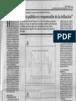 Consecomercio - El Excesivo Gasto Publico Es Responsabilidad de La Inflacion - Reporte 06.08.1990