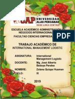Trabajo Academico International Management Logistic