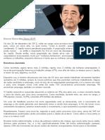 Discurso Shinzo Abe 2019 Davos