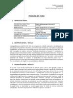 Concreto - Programa Del Curso