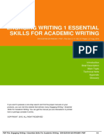 Engaging Writing 1 Essential Skills for Academic Writing