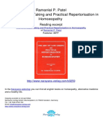The Art of Case Taking and Practical Repertorisation in Homoeopathy Ramanlal P Patel.03259 2Analysis and Evaluation of Symptoms