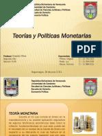 Presentación Teorías y Políticas Monetarias
