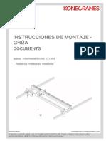 Instrucciones de Montaje Grua Konecrane