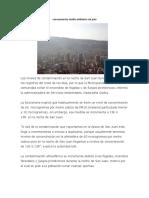 Consecuencias Medio Ambiente San Juan