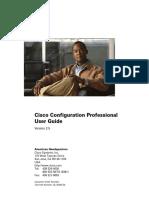 Cisco Configuration Professional-CCP-User Guide
