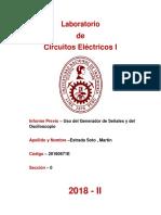 Informe Previo - Estrada