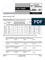 LRDI-01 Table and Line Graph With Solutions