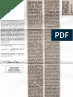 Sentinel Proof of Publication Copyright Notice Affidavit