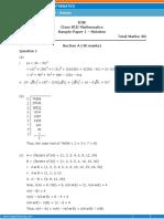 icse x111 sample paper