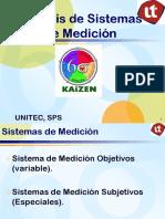Analisis de Sistema de Medicion