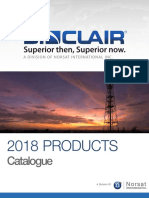Sinclair 2018 Product Catalog