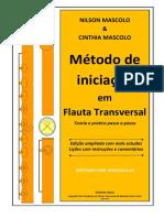 Mascolo, Método de Iniciação Em Flauta Transversal - Edição Ampliada e Comentada - Março2019