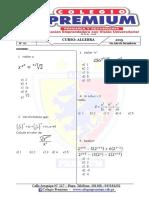 Algebra 5to b Trimestral