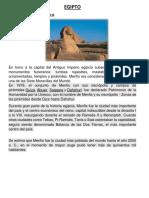 EGIPTO Patrimonio Unesco
