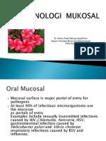 Kuliah Imunologi Mukosal PPDGS 2018 - Copy