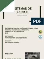 Informe Sistemas de Drenaje