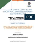 22. Plan de Contingencias Fiestas Patrias 2017