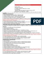 Requisitos Para La Apertura de Cuentas