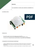 Capteur Hc Sr501 Arduino Raspberry